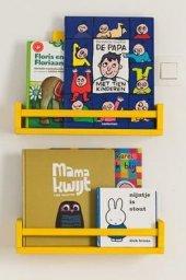 Ceebebek Ahşap Duvar Raf Bebek Çocuk Odası Montessori Sarı Kitaplık 2sarı40 Ücretsiz Kargo