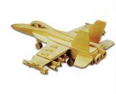 Piramigo 3d Ahşap Puzzle Maket F 18 Hornet Bomber 47 Parça