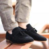 Gınnex 115 Sıyah Suet Erkek Casual Ayakkabı
