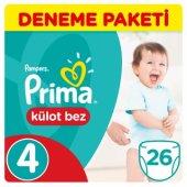 Prima Külot Bebek Bezi Deneme Paketi 4 Beden 26 Adet