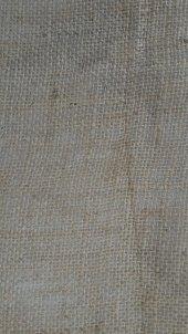 Telis Bezi Kanaviçe Kumaş 1x15 15 M2 10luk Sık Dokulu Jüt Kumaş Süsleme Kumaşı Kendir Kumaş Çuval Kumaşı