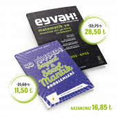 40 Hikayede Sayısal & Sözel Mantık Problemleri + Eyvah Dedirtmeyen Kitap. İkili Set