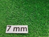 Suni Cim Halı 7 Mm 1x18 18 M2 Doğal Görünümlü Çim Halı Sentetik Çim Halı Dekoratif Çim Halı Yeşil Suni Çim Halı Kapı Önü Çim Halı