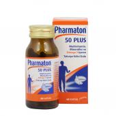 Pharmaton 50 Plus 60 Kapsül Skt 01 2020