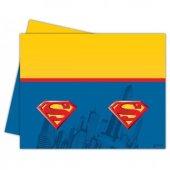 Superman Plastik Masa Örtüsü