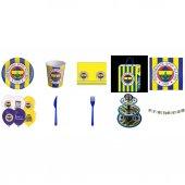 Fenerbahçe Doğumgünü Seti 16 Kişilik