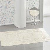 Favore Casa Krem 52x67 Cm Banyo Paspası