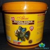 Ahm Natural Cichlid Granulat Balık Yemi 500gr