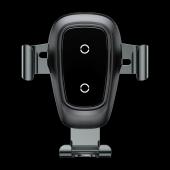 Baseus Samsung Galaxy Note 7 Fe Fan Edition Gravity Metal Wireless Araç Şarj Cihazı Siyah