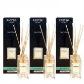 Carpex Springtime Bambu Çubuklu Oda Banyo Ev Ofis Tuvalet Parfümü 3lü Paket