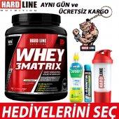 Hardline Protein Tozu Hardline Whey 3 Matrix 908 Gr