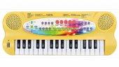Elektronik Piyano Çocuk Org Klavye 32 Tuşlu Mikrofonlu Karaoke