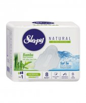 Sleepy Natural Ultra Hassas Normal 8li Bambu Kadın Pedi