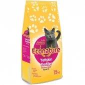 Econature Yetişkin Tavuk Etli Kedi Maması 15 Kg.
