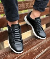 Conteyner 470 Nova Siyah Renk Günlük Ayakkabı