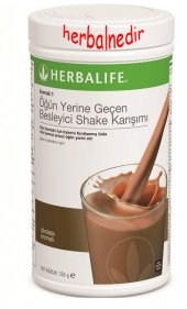Herbalife Formül1 Ogün Yerine Geçen Besleyici Shake Karışımı Çikolata