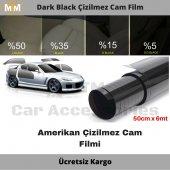 Kgn Dark Black Çizilmez Cam Filmi 6mt