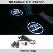 Subaru Kapı Altı Led Logo