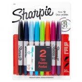 Sharpie Twin Tip Permanent Marker 8 Renk