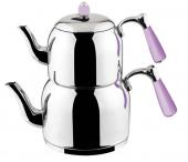 özkent K 376 Armine Sade Mini Boy Çaydanlık
