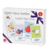 English Flash Cards İngilizce Oyun Kartları