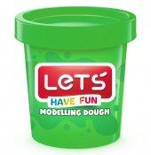 Lets Have Fun Tek Renk Oyun Hamuru Yeşil