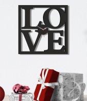 Love Ahşap Saat