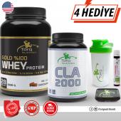 Torq Nutrition Gold Whey Protein 1000 Gr + Cla 2000 100 Kapsül