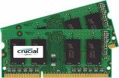 Crucial 16gb Kit (8gbx2) Ddr3 Ddr3l 1600 Mhz (Pc3 12800)