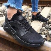 Air Huarache Siyah Günlük Spor Ayakkabı