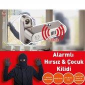 Alarmlı Çocuk Ve Güvenlik Kilidi, Kapı Ve Pencereler İçin Inox