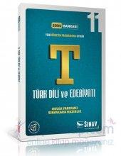 Sınav 11. Sınıf Türk Dili Ve Edebiyatı Soru Bankası