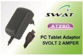 Swat Tablet Pc Şarj Adaptörü 5v 2a Micro 5pinli