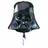 1 Adet Kikajoy Darth Vader Siyah Maske Folyo Balon...