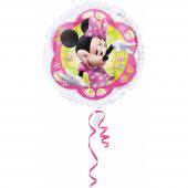 1 Adet Kikajoy Minnie Mouse Yuvarlak Folyo Balon 5...