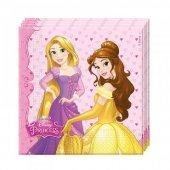 20 Adet Kikajoy Disney Düşler Prensesi Partisi Peçetesi