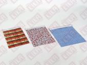 100 Adet Kika Metalize Poşet 20*25 Cm