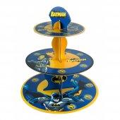 Batman Cupcake Standı