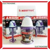 Koffi 560 Pratik Doğrayıcı, Parçalayıcı, Rondo, Krema Yapıcı Mini Robot
