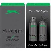 Slazenger Active Sport Yeşil 125 Ml Edt + 150ml Deo