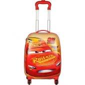 Hakan Çanta Cars 95721 Lisanslı Abs Çocuk Valizi Bavul