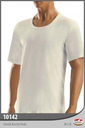 şahin Marka, Erkek, Yuvarlak Yaka T Shirt, Kısa Kol, Kışlık İçlik, 6 Adet.