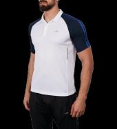 Lescon 18b 1148 Beyaz Polo Yaka Regular Fit Kısa Kol Erkek Tişört