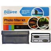 Böwee 77mm Kit Filtre Seti (Uv Cpl Polarize Nd1000...