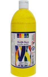 Südor Akrilik Boya 500 Ml Limon Sarı No Sd1009 01