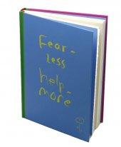 Dones Fear Less Help More 96 Yaprak A5 Çizgisiz Defter