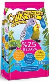 Quik Vitaminli Muhabbet Kuşu Yemi 1 Kg