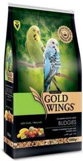 Gold Wings Premium Muhabbet Kuşu Yemi 1 Kg