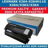 Lexmark X264 X264h11g Muadil Toner X363 X364 9.000 Syf
