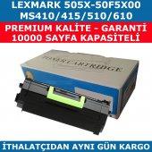 Lexmark Ms410 505x 50f5x00 Muadil Toner Ms415 510 610 10.000 Syf
